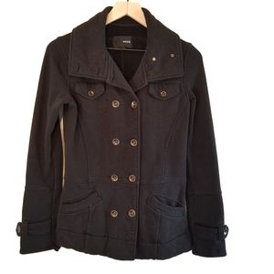 Hurley Double Breasted Cargo Pea Coat XS